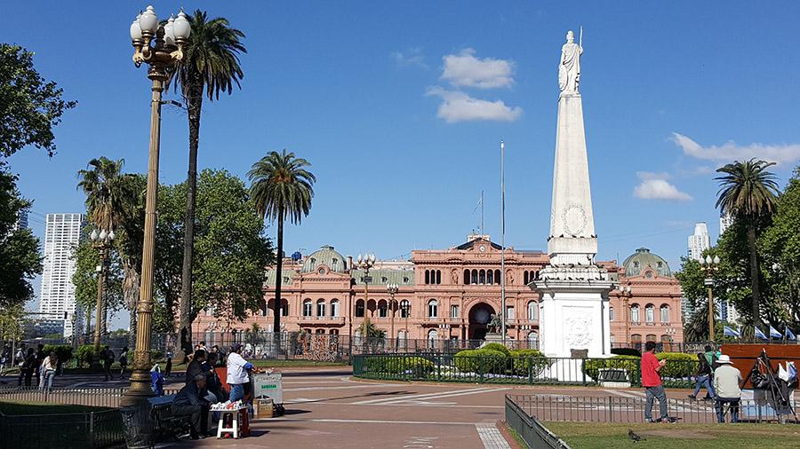 Un día romántico en Buenos Aires