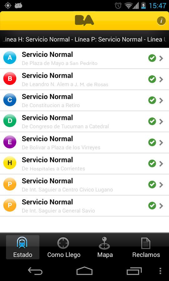 15 aplicaciones gratuitas para viajar por Buenos Aires