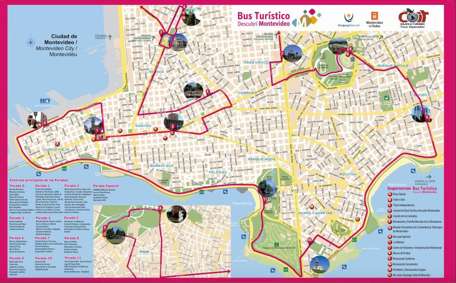 Bus Turístico de Montevideo