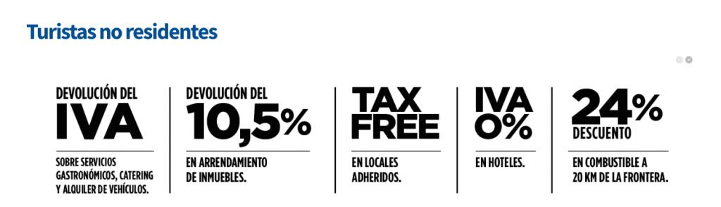 Beneficios para turistas argentinos que viajen aUruguay